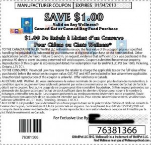 Wellness-Canned-Cat-Food-Coupons-Canada January-2013