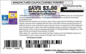 Wellness Dry Cat Food Coupons Printable October November 2012