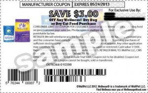 Wellness Dry Dog Food Coupons 2013 May US