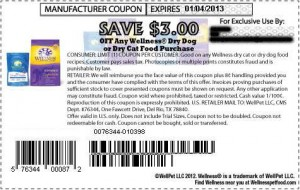 Wellness Dry Cat Dog Food Coupons Printable January 2013