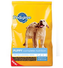 pedigree puppy complete nutrition for puppies