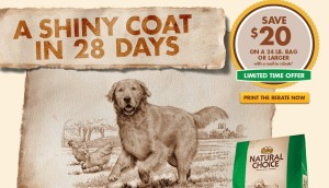 Nutro Natural Choice Dry Dog Food Coupon