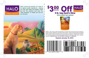 $3 Halo 6lb Spot's Stew Dog Food Coupons