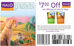 $7.00 Halo Spot's Stew Dog Food Coupon