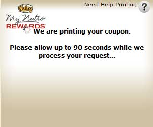 print Nutro dog food coupons