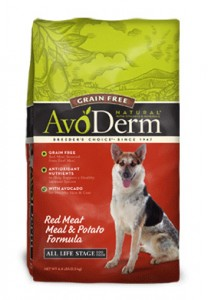 avoderm grain free dog food