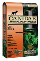 Canidae Lamb Meal and Rice Formula