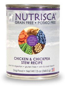 Chicken and Chickpea Stew Recipe Grain Free Dog Food