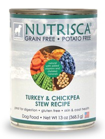 Turkey and Chickpea Stew Recipe Grain Free Dog Food