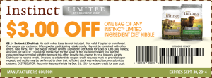 Instinct Limited Ingredient diet kibble
