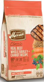 Merrick Real Beef Whole Barley Carrot Dog Food Recipe