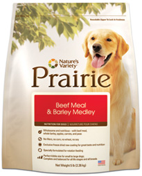 Prairie Holistic Beef Meal & Barley Medley Dog Food