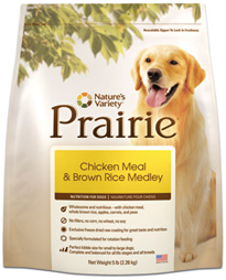 Prairie Holistic Chicken Meal & Brown Rice Medley Dog Food