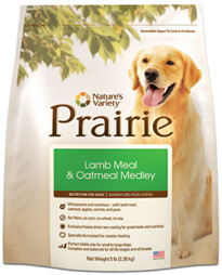 Prairie Holistic Lamb Meal & Oatmeal Medley Dog Food