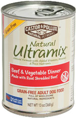 NATURAL ULTRAMIX ADULT DOG FOOD BEEF & VEGETABLE DINNER