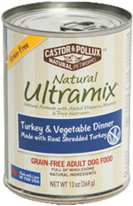 NATURAL ULTRAMIX ADULT DOG FOOD TURKEY & VEGETABLE DINNER