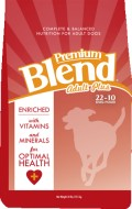 Premium Blend Plus 22 10 dog food
