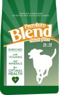 Premium Blend Plus 26 18 dog food