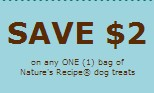 Nature's Recipe Dog Food Coupons 2013