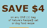 Nature's Recipe Cat Food Coupons 2013