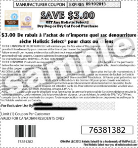 Canadian-Holistic-Select-Dry-Cat-Food-Printable-Coupons-September