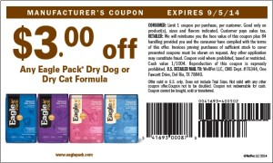 $3.00 Eagle Pack Coupon