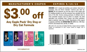 $3.00 Eagle Pack Coupon May 2014