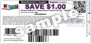 Wellness Canned  Dog Food Coupons