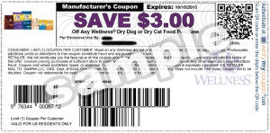 Wellness Dry  Dog Food Coupons