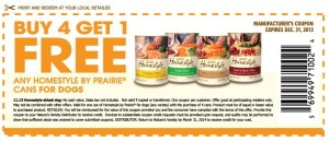 Free Sample Prairie Dog Food Coupons