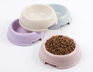 Plastic Dog Food Bowls