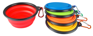 Portable Dog Food Bowls